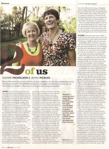 Article - neighbours discover they share a secret